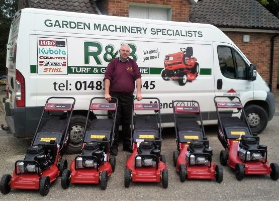 R&B Turf & Groundcare Machinery Repair Specialists